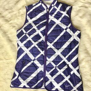 Like new Nike Golf full zip vest